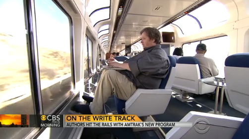 Watch what Bill Willingham, the first Amtrak Resident to travel, had to say about his trip on the Empire Builder.
