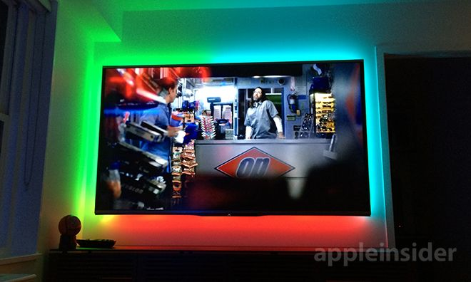 Philips Hue Tv Light Strip.Www Oncontrols Com Philipshue Oncontrols Smarthome