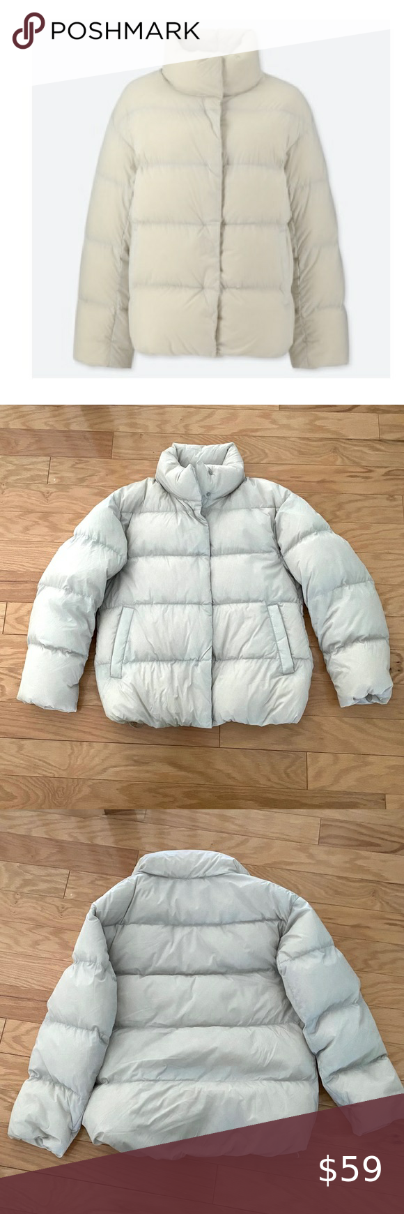 New Uniqlo Ultra Light Down Light Gray Puffer Coat In 2021 Grey Puffer Coat Puffer Coat Pink Puffer Coat [ 1740 x 580 Pixel ]