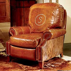 Personalized Recliner King Ranch Ranch House Decor Ranch