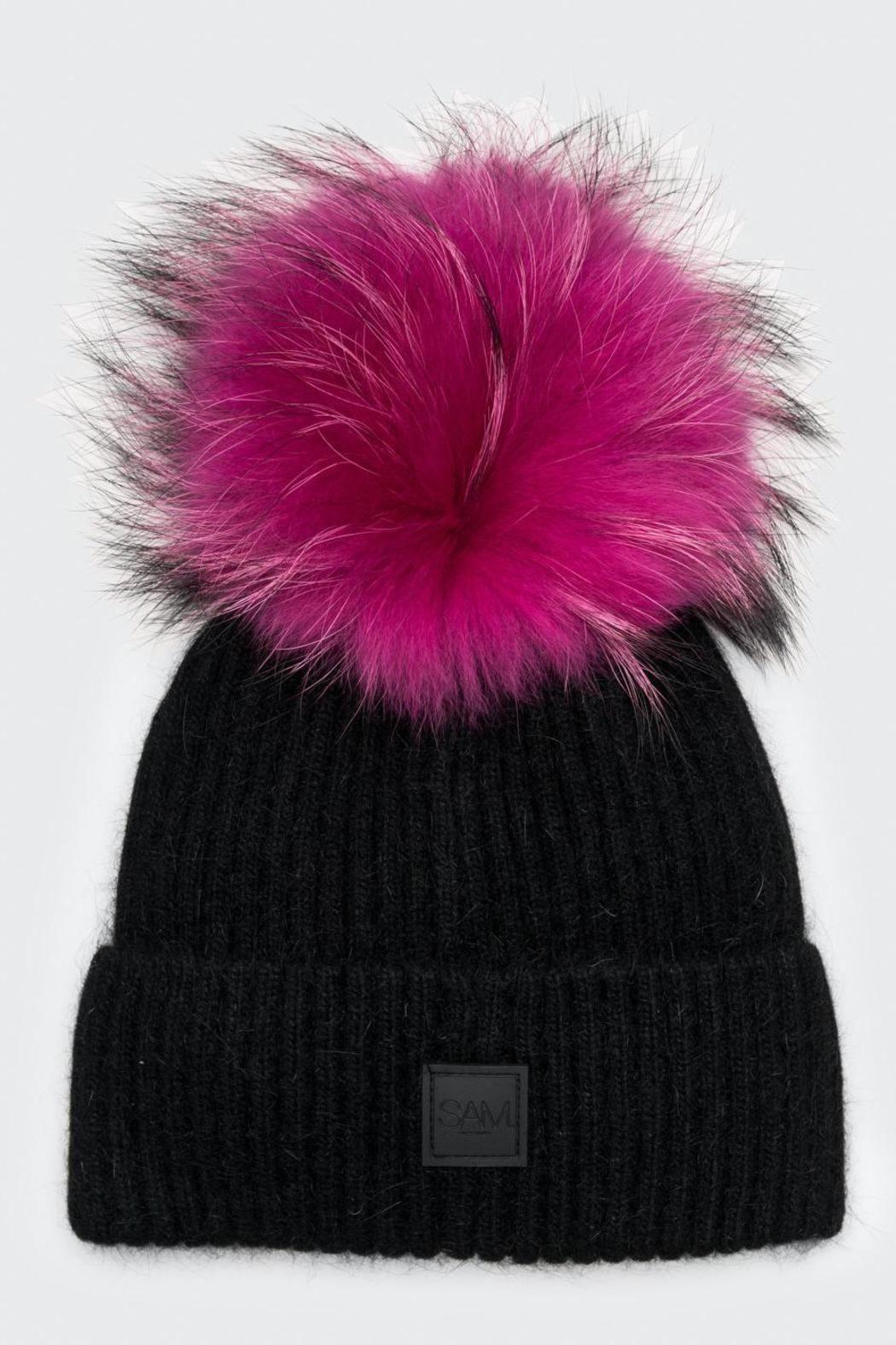 a9b8b2172 Sam. Fur Beanie | Fall Collection | Beanie hats, Fur pom pom hat ...