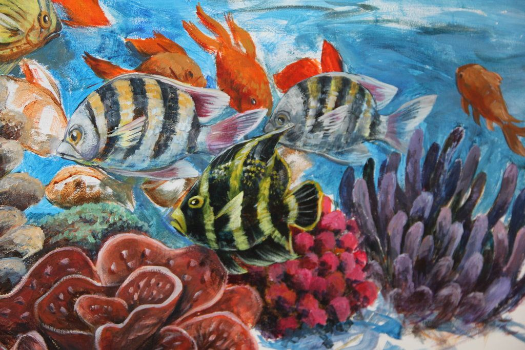 Detail of WIP mural by CrowFairy.deviantart.com on @DeviantArt