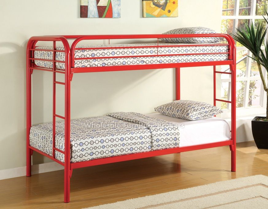 Practical Twin Bunk Beds for Two Kids in a Small Room
