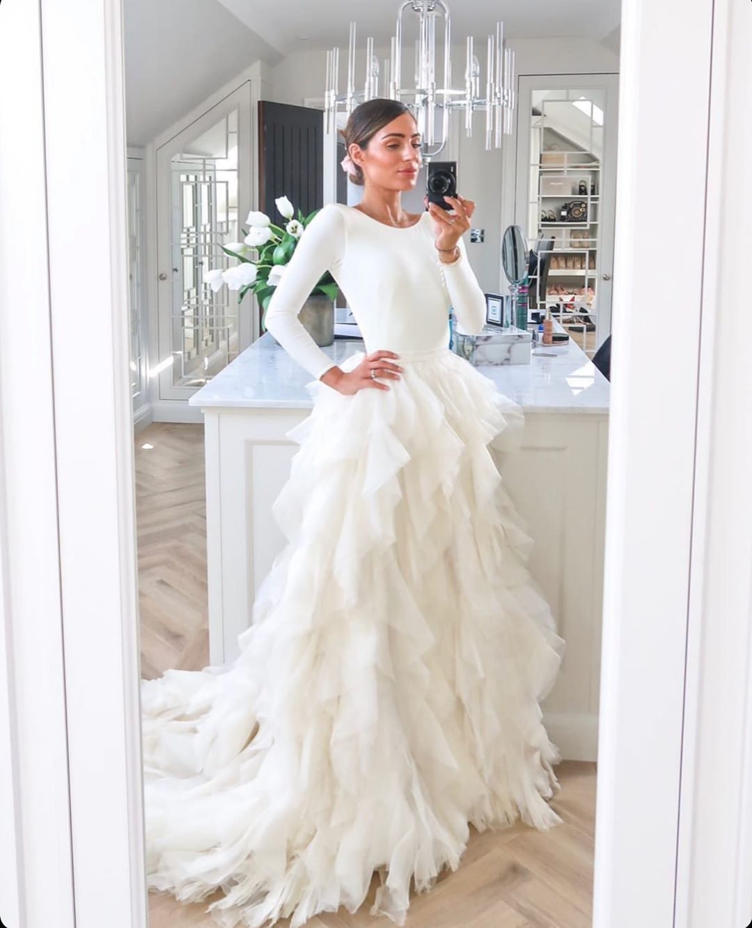 Kate Halfpenny On Instagram When You Get A Message From The Gorgeous Lydiaemillen On A Friday Night Wedding Dresses Lydia Elise Millen Dream Wedding Dresses