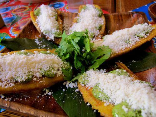 Tostones at Caracas Arepa Bar. New York, NY.    See the whole meal at EdiesBathrobe.com
