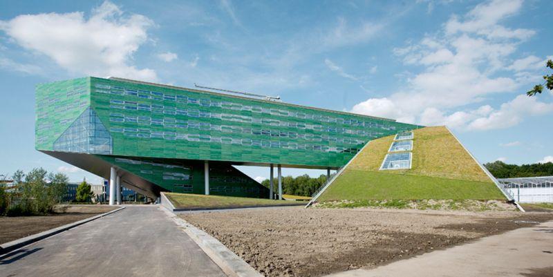 Rug University Groningen Life Science Building Design Rudy Uytenhaak Architects Architectuur Architecten