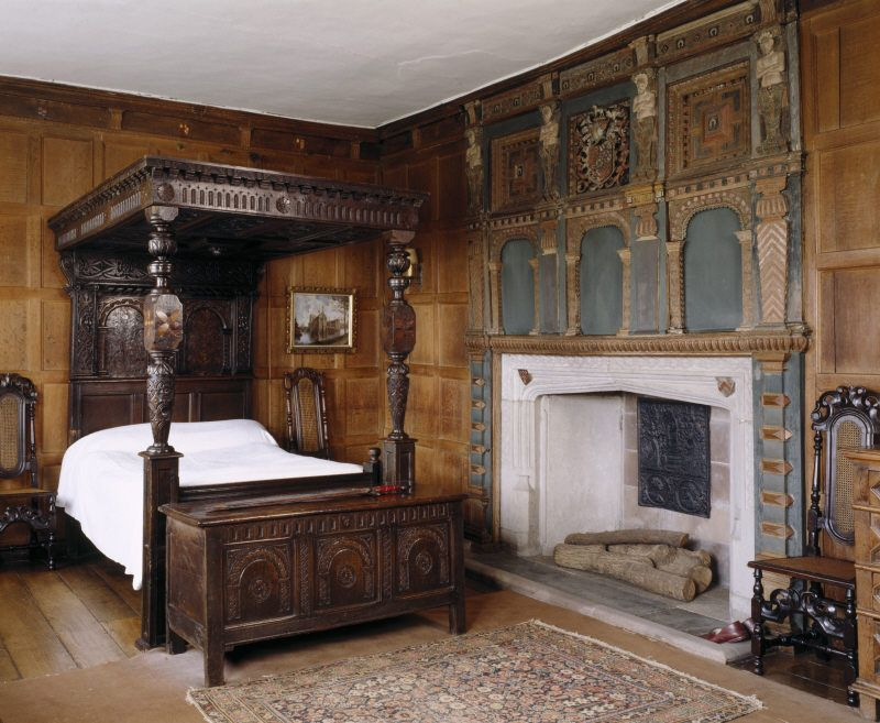 Letto A Castello In Inglese.Decordesignreview Room View Of Henry Ferrers S Bedroom At Baddesley