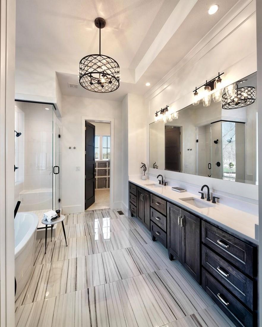 65 Genius Tiny House Bathroom Shower Design Ideas 2019 Page 44 Centralcheff Co Luxury Master Bathrooms Master Bathroom Design Bathroom Design Inspiration