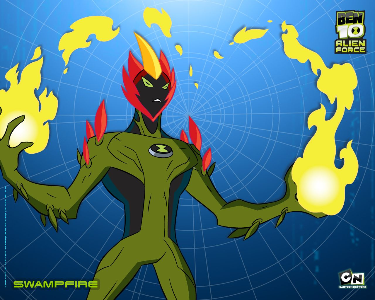 Ben 10 Alien Force Wallpaer Ben 10 Alien Force Ben 10 Cartoon
