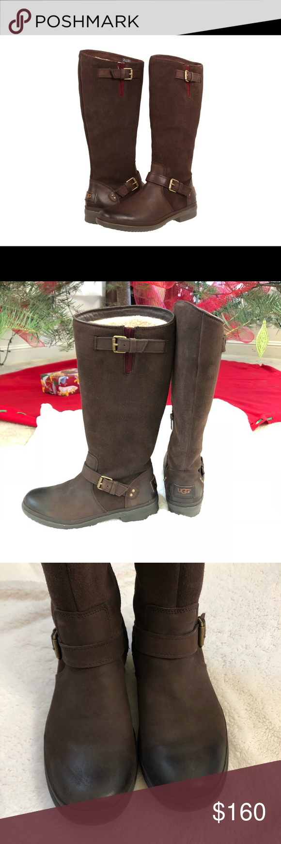 e284f40a1b7 Ugg Thomson Waterproof leather riding boot 7.5 'Thomsen' from UGG ...