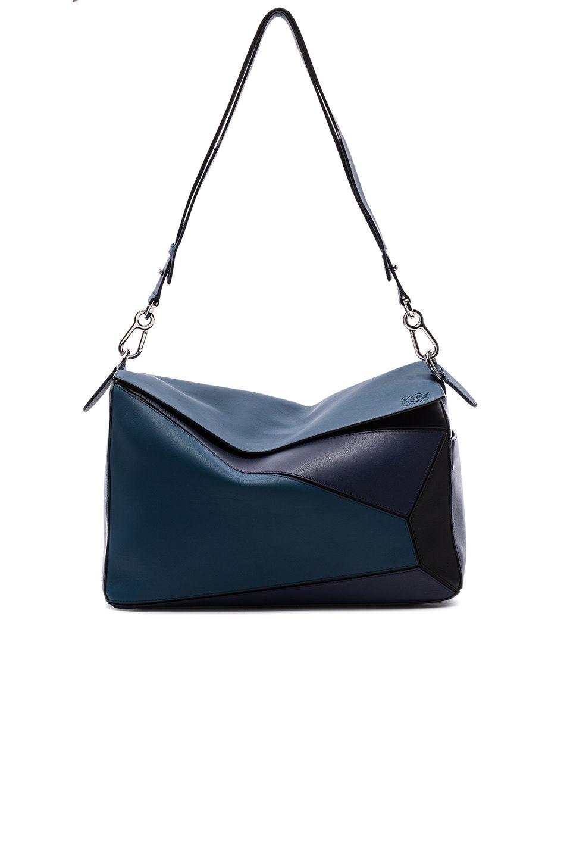 31ab168a5b72 LOEWE XL Puzzle Bag.  loewe  bags  shoulder bags  leather  lining ...