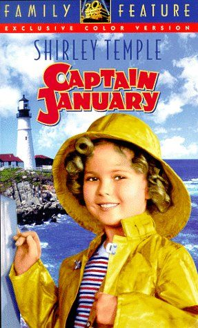 Shirley Temple Captain January Vhs 20th Century Fox Https Www Amazon Com Dp 6303317332 Ref Cm Sw R Pi Dp U X 1qs5abr Temple Movie Vhs Movie Shirley Temple