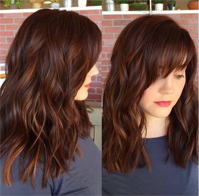 hair styles for seniors spicy auburn color with dimension and shine hair color 9591