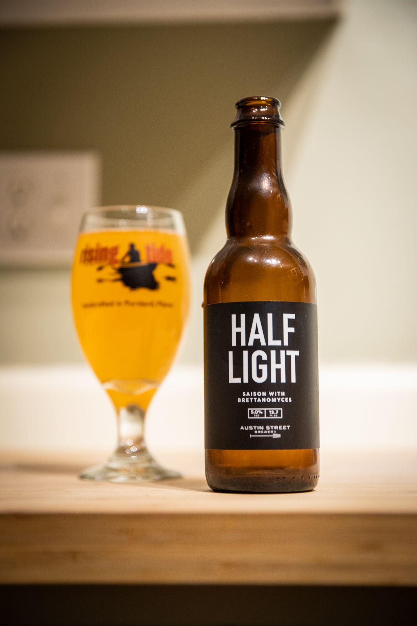 Austin Street Brewing Company Half Light Portland Maine Beer