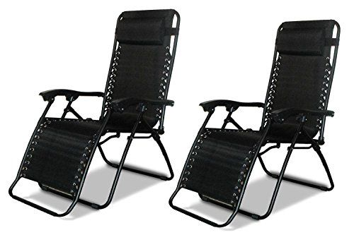 Now 99 Denny International Textoline Reclining Garden Chair Beach Sun Lounger Recliner Chairs In Black Weatherproof This Is The New