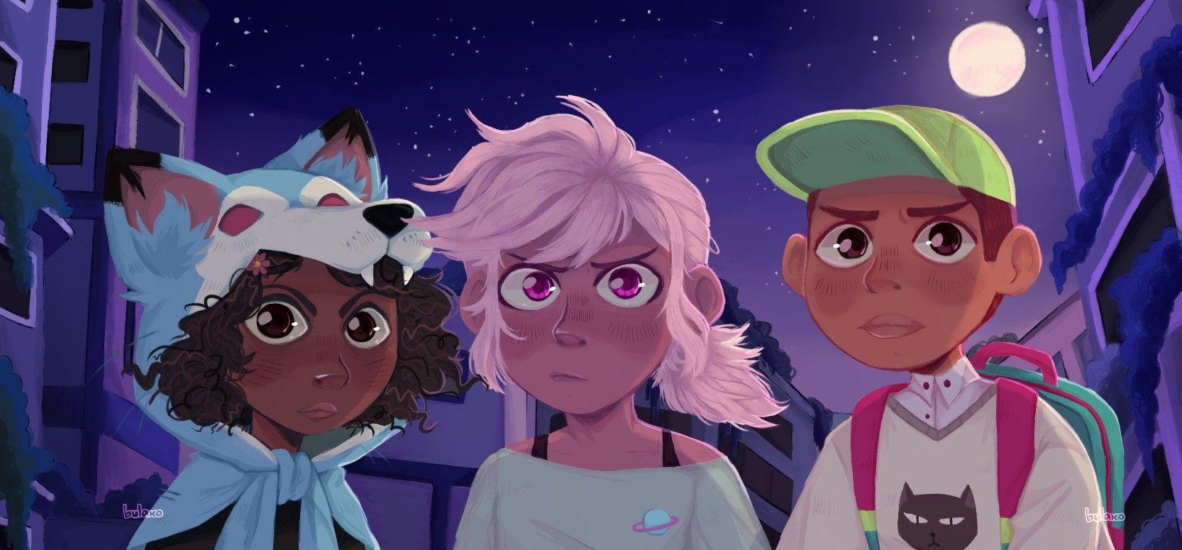 Kipo and the age of wonderbeasts anime age anime furry