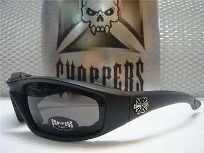 MOTORCYCLE BIKER RIDING CHOPPERS SUN GLASSES PADDED FOAM GOGGLES DARK BLACK LENS https://t.co/bwkNaXzciO https://t.co/u0IMDrEv3Y