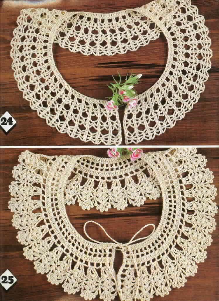 Free Crochet Patterns Collars Crochet Collars Pinterest