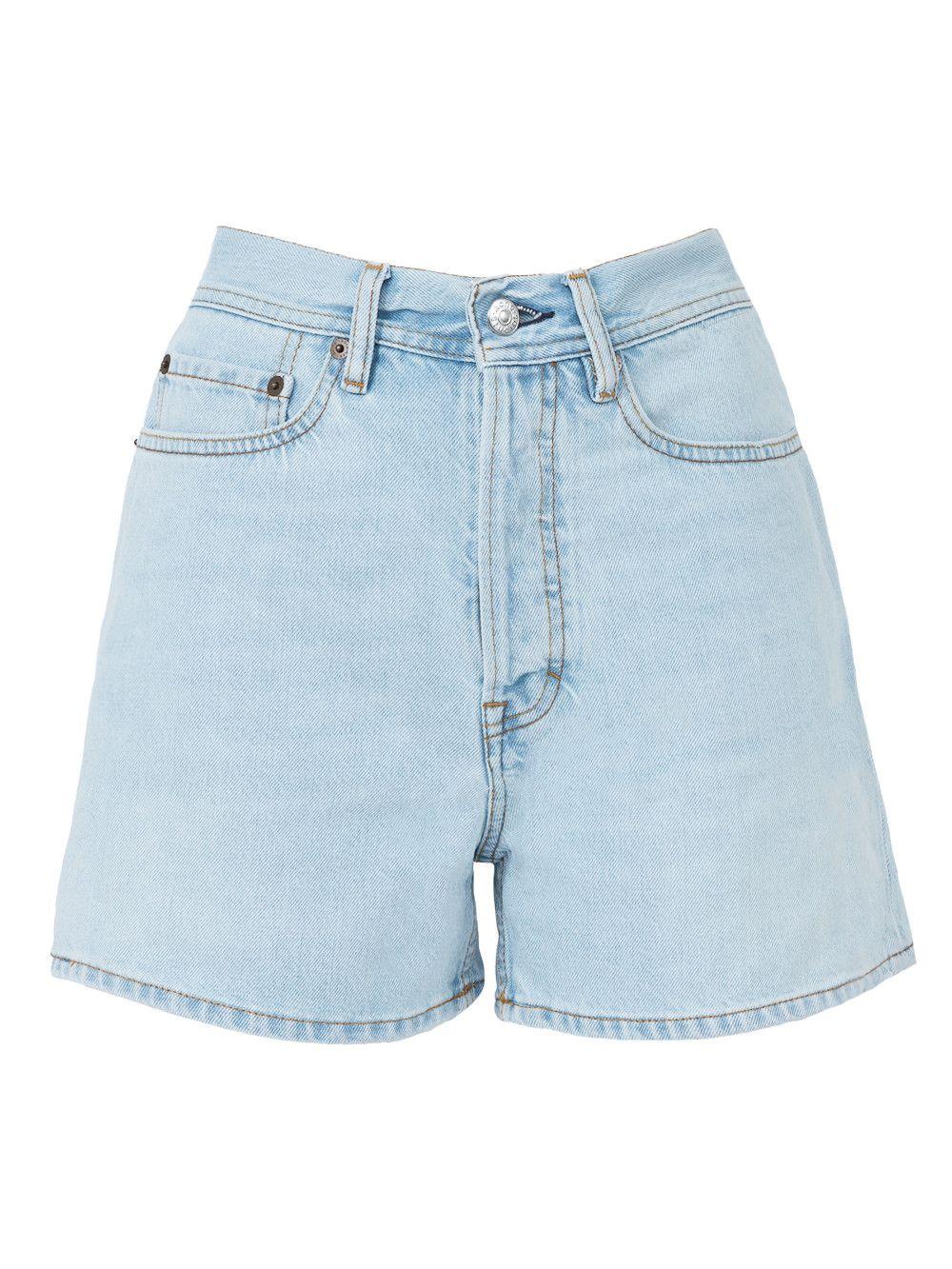 eff5bf48d ACNE STUDIOS Swamp Light Blue Shorts. #acnestudios #cloth # | Acne ...