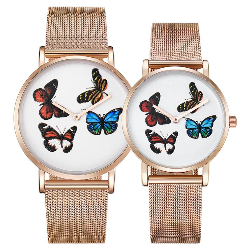 Click to buy ucuc cagarny fashion dress women watches butterfly design
