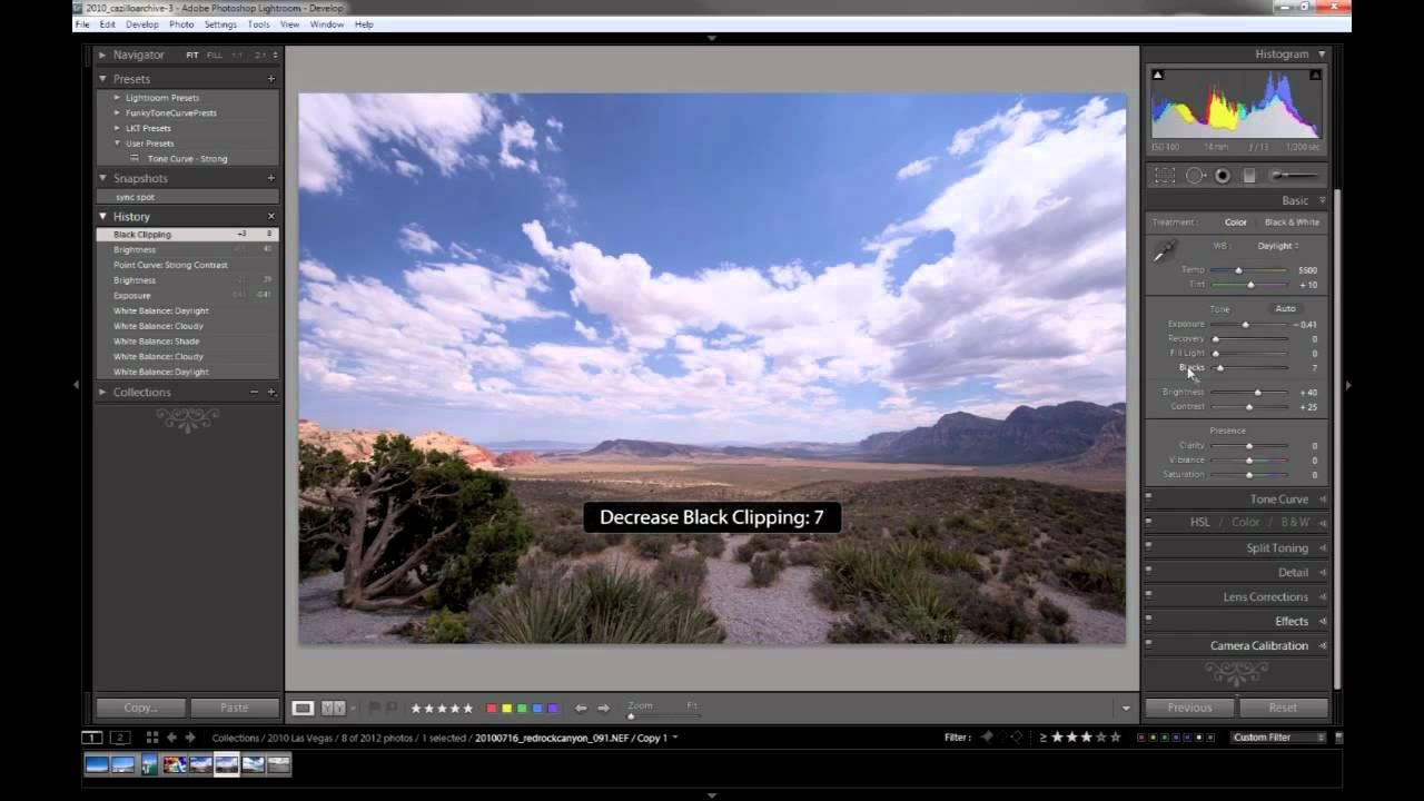 Lightroom 3 Tutorial - Editing a RAW file