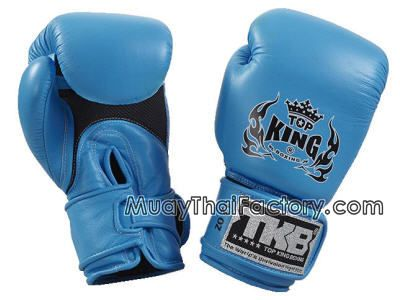 Top King Top King Gloves - DoubleLock -NEON- LIGHT BLUE (AIR) for sale.  [TKBGDL-NEON-LB]