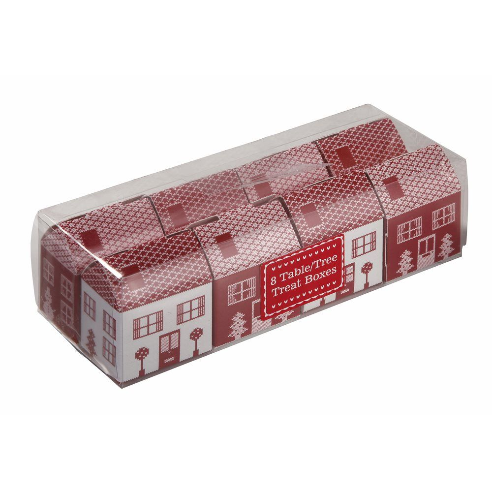 Purchased three sets of these houses to put on a Red Christmas Box..purchased at Selfridges on Oxford Street in London September 2014