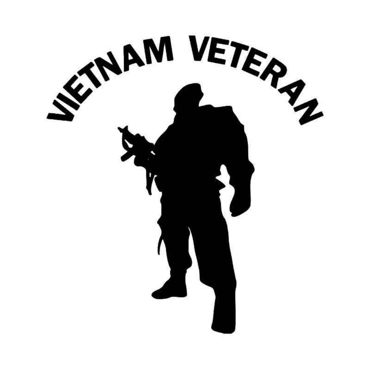 Vietnam Veteran Solr Military Vinyl Decal Sticker