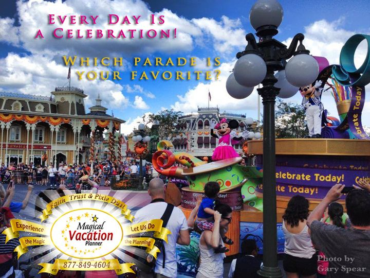 Which parade is your favorite at the Parks?!