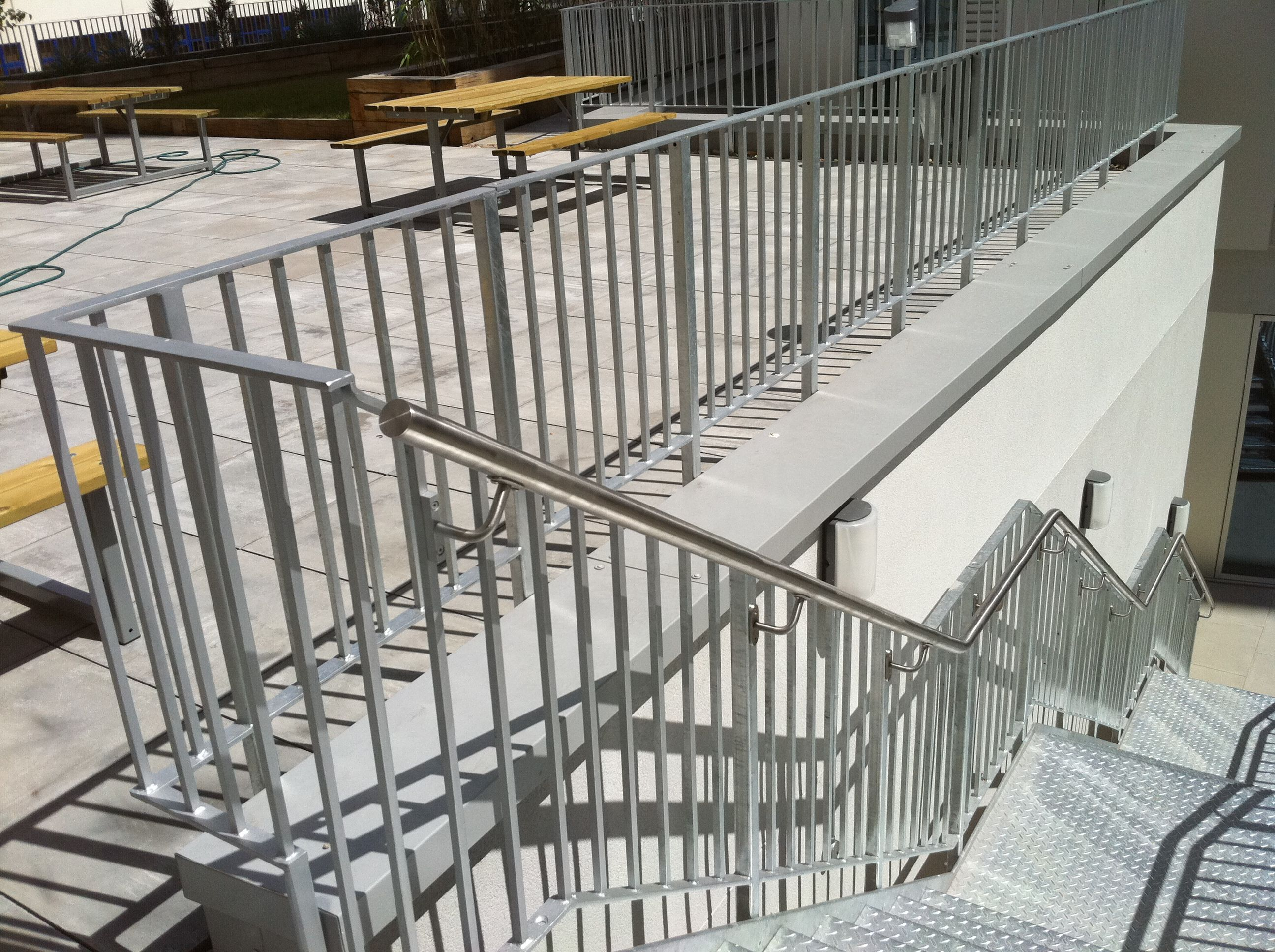 Best Outdoor Staircase Designed And Built By Me Mild Steel 400 x 300