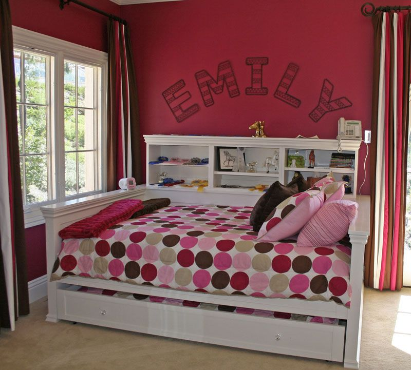 Full Size Daybed With Shelving And Trundle Full Daybed