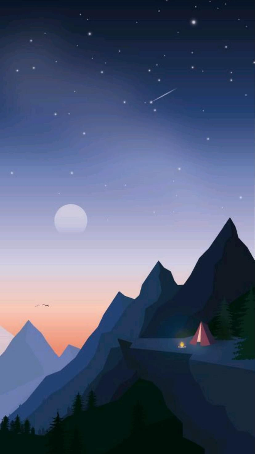 Mountains Night Wallpapers