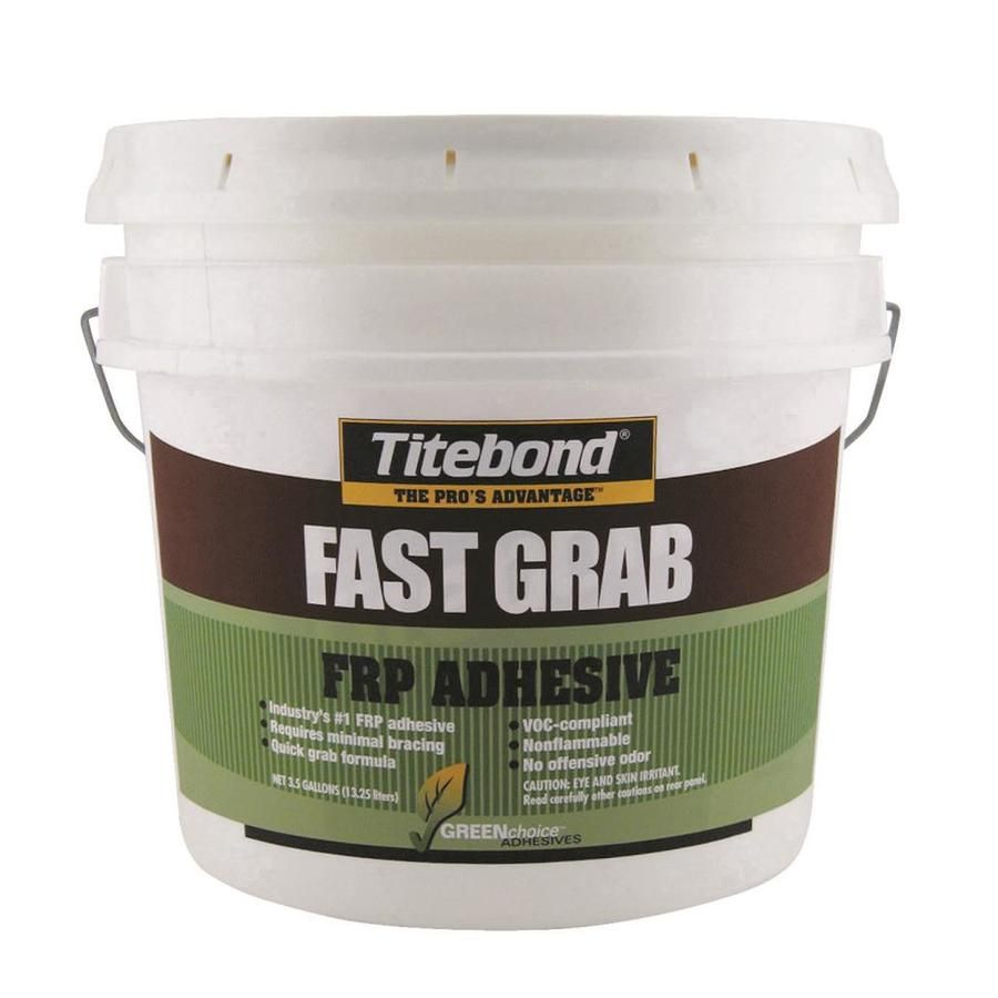 Titebond Greenchoice Brown Frp Construction Adhesive Actual Net Contents 448 Fl Oz 4059 In 2020 Adhesive Plastic Moulding Treated Plywood