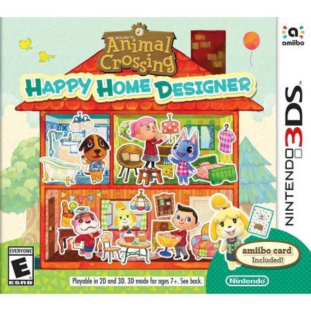 Video Games Happy Home Designer Animal Crossing Game Animal
