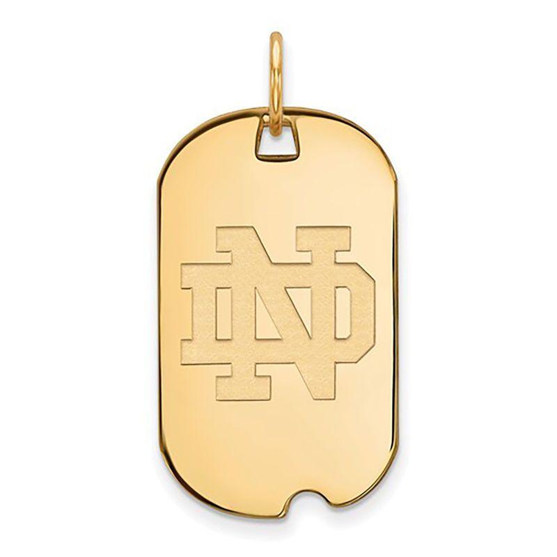 Gold-Plated 925 Silver Texas A/&M University Medium Enamel Disc Pendant LogoArt