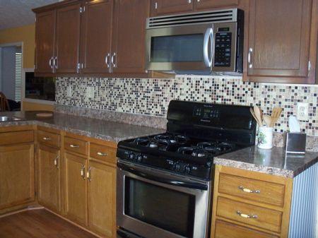 reglazing honey oak cabinets   Diy kitchen renovation ...