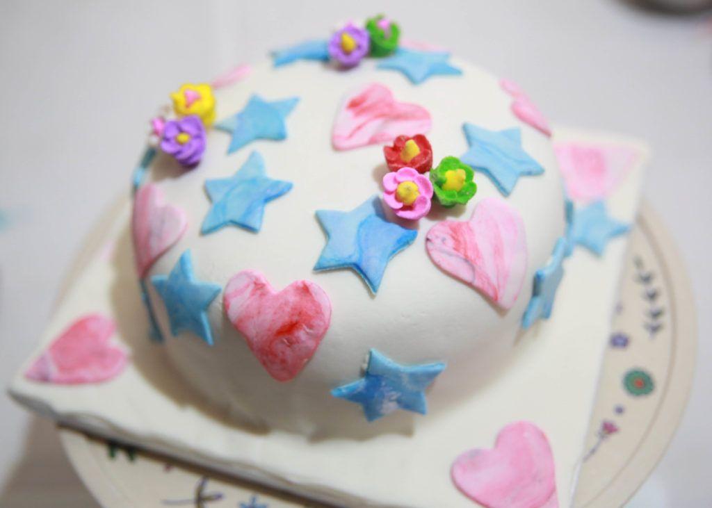 Kue Ultah Dengan Hiasan Minimalis Cake Decorating
