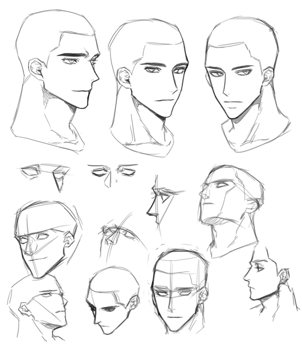 Pin By Camille Yu On M Drawing Expressions Male Face Drawing Face Drawing Reference Drawing Face Expressions