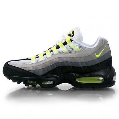 Nike Air Max '95 Mens 609048 072 Cool Grey Neon Running