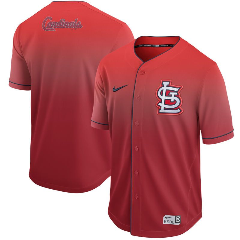 2406fd561 St. Louis Cardinals Nike Fade Jersey - Red