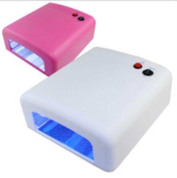 36 Watt UV Lamp Dryer 220V/110V Light Gel Nail Polish Curing Machine For  Manicure