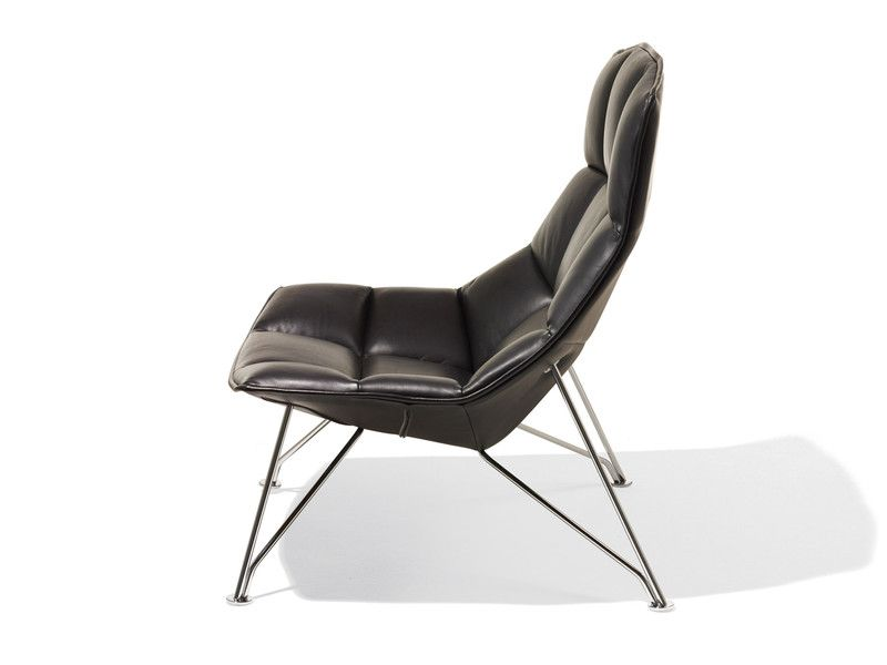 Knoll Jehs Laub Lounge Chair With Wire Base Lounge Chair