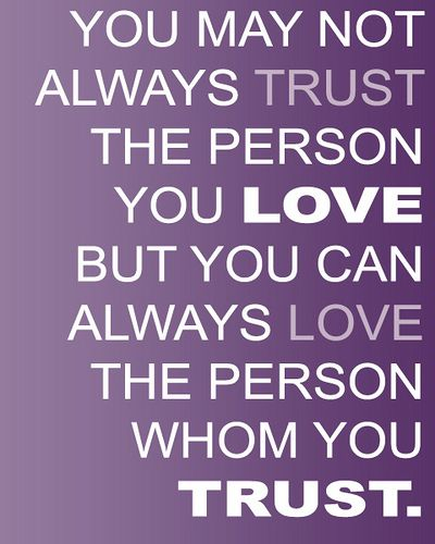 Trust   Love. Quotes About RelationshipsBroken ...
