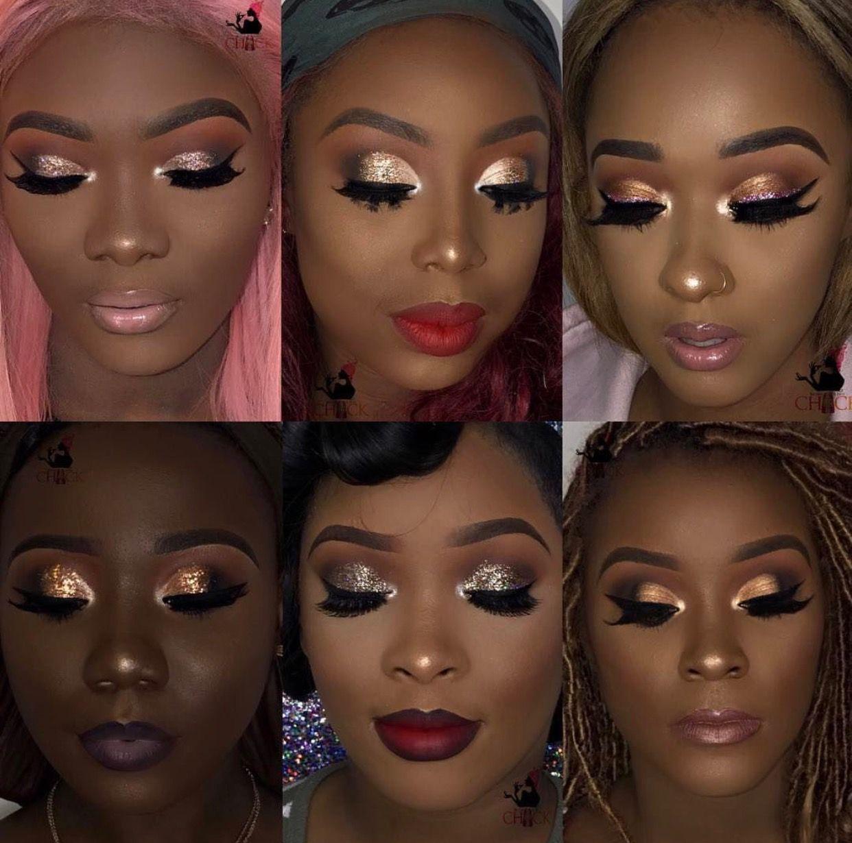 Makeup Gold Makeup Looks Rose Gold Makeup Looks Dark Skin Makeup