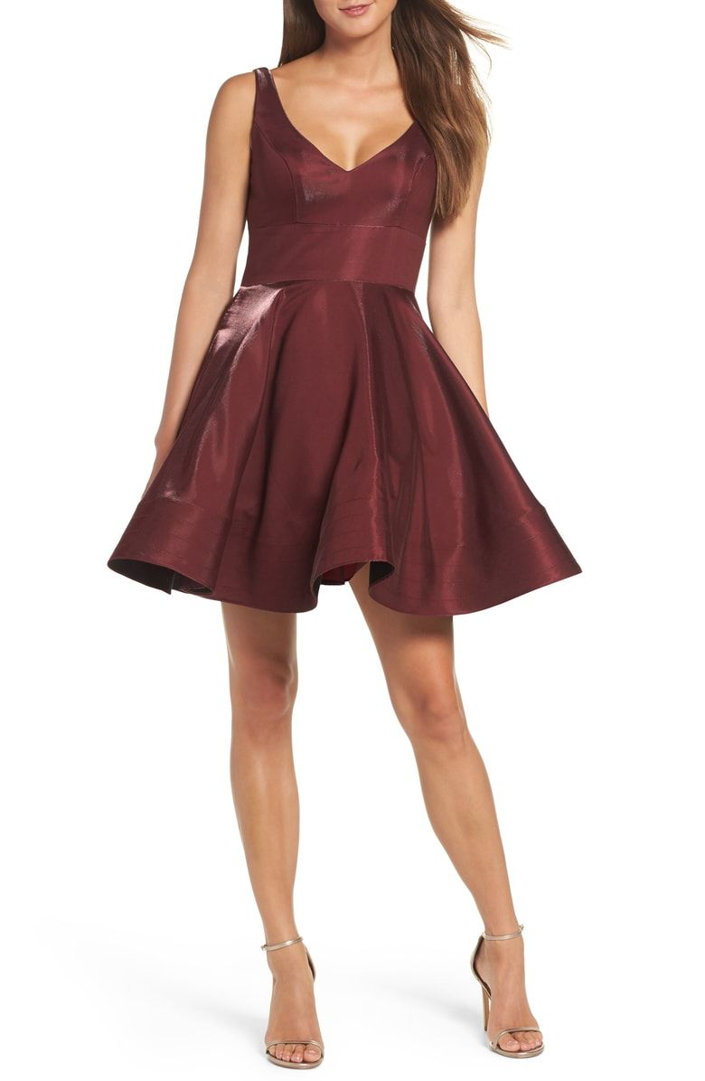 5172df48 Free shipping and returns on Xscape Shimmer Fit & Flare Dress at  Nordstrom.com