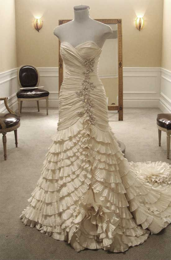Dress that consultant Sarah wore for her Wedding from Say Yes to the ...