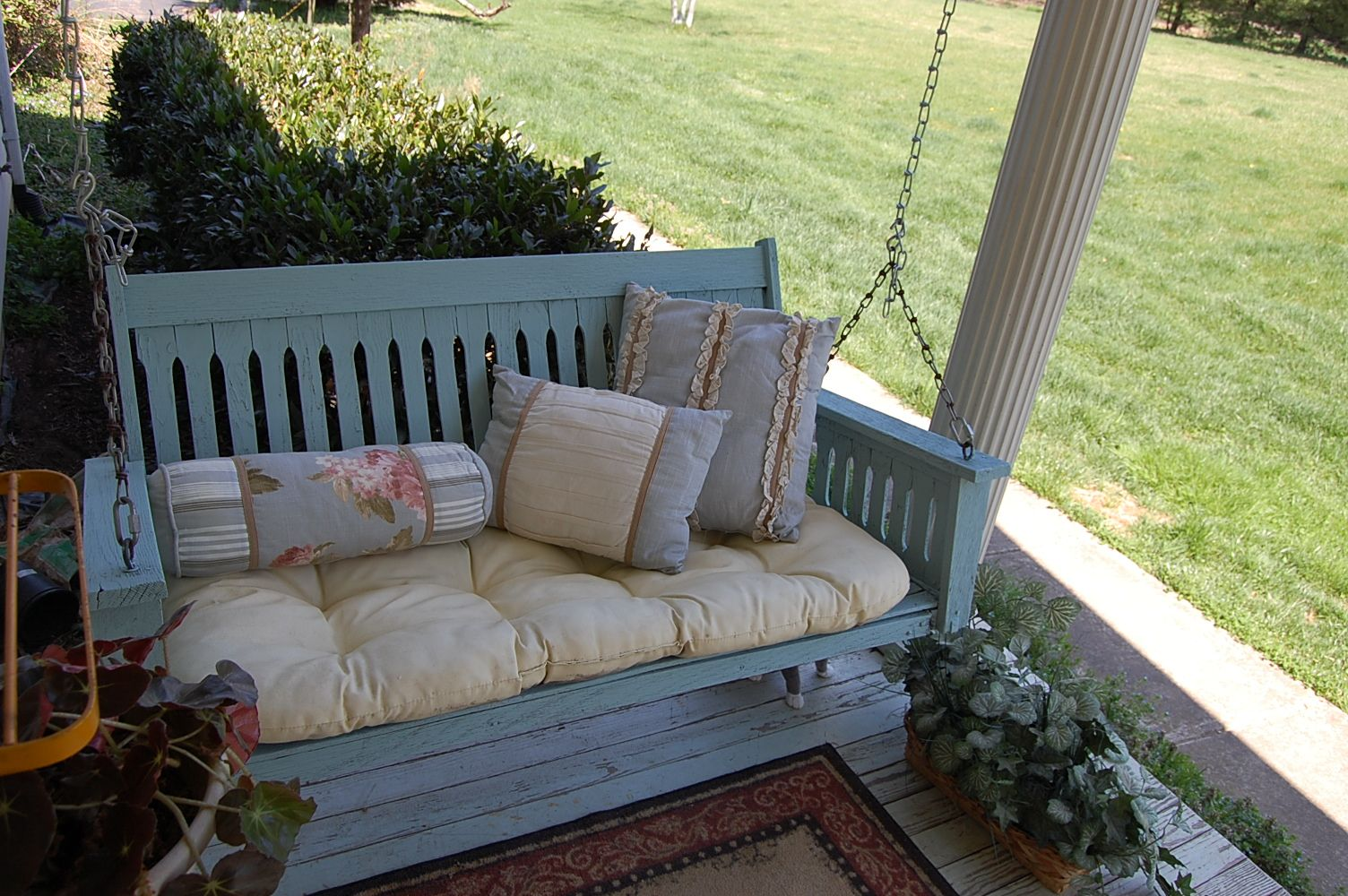 Image result for porch swing chalk paint
