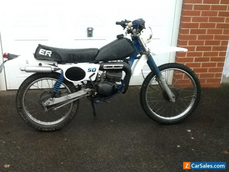 rare 1981 suzuki ts 50 er barn find field bike off road. Black Bedroom Furniture Sets. Home Design Ideas