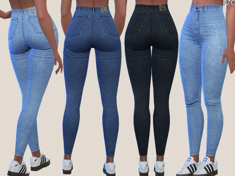 Denim Skinny Jeans 015 by PZC