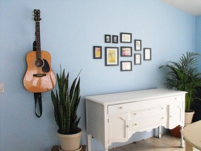 How to hang a group of pictures without destroying your wall